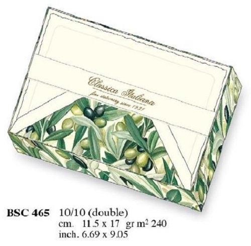 Papeteria box 10 karnetów i 10 kopert BSC 465