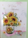 Karnet urodziny B6 Premium 27 + koperta