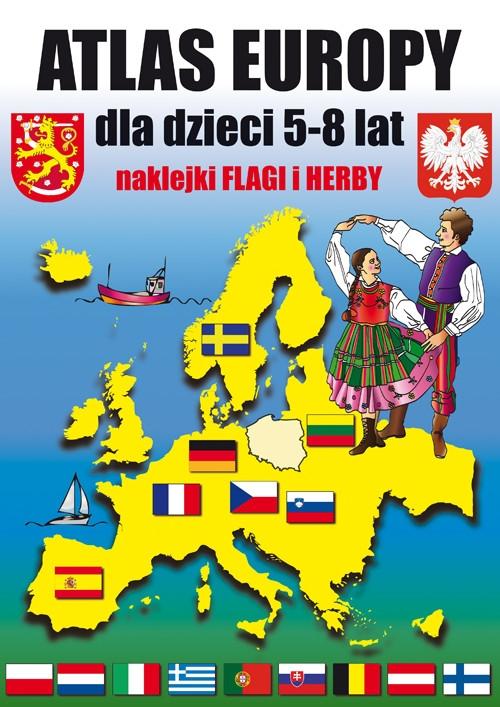 Atlas Europy dla dzieci 5-8 lat Tonder Krzysztof