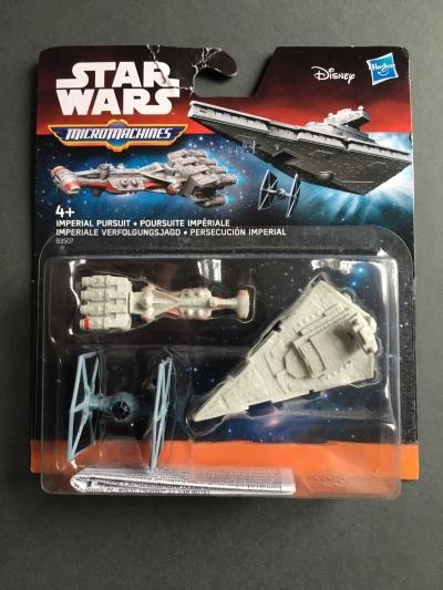 Star Wars micro machines - imperial pursuit  B3507 .