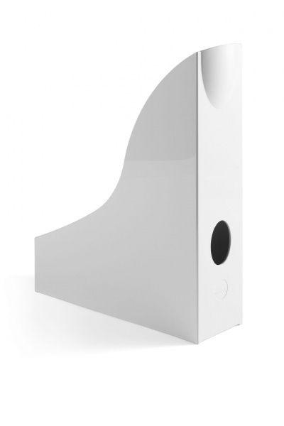Pojemnik na dokumenty pionowy Durable A4 - biały 73 mm x 306 mm x 241 mm (1701711010)