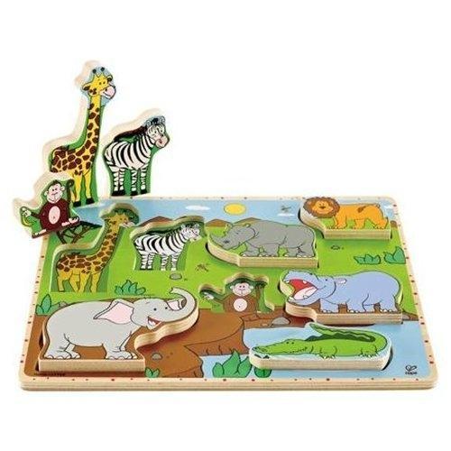 Dzikie zwierzęta Puzzle stojące  (E1451)