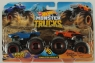 Hot Wheels Monster Trucks: Pojazdy 2-pak - Rodger Dodger vs Dodge Charger R/T (FYJ64/GBT69)