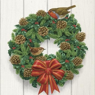 Serwetki Wreath on Door SDL058100
