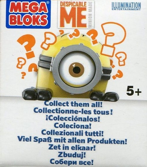 Mega Bloks Minionki figurka seria 2 CNT40