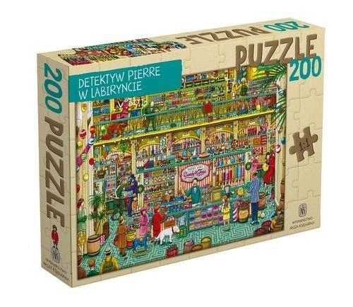 Detektyw Pierre w labiryncie. Puzzle Kamigaki Hiro