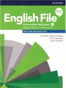 English File. Język angielski. Intermediate Multipack A + online practice. praca zbiorowa