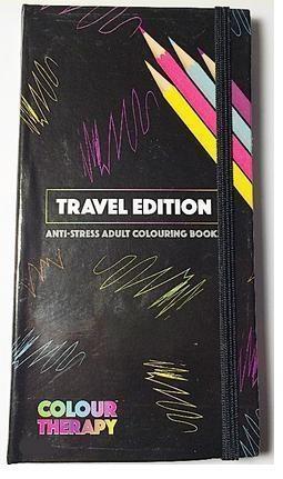Kolorowanka antystresowa dla dorosłych A6 podróżna