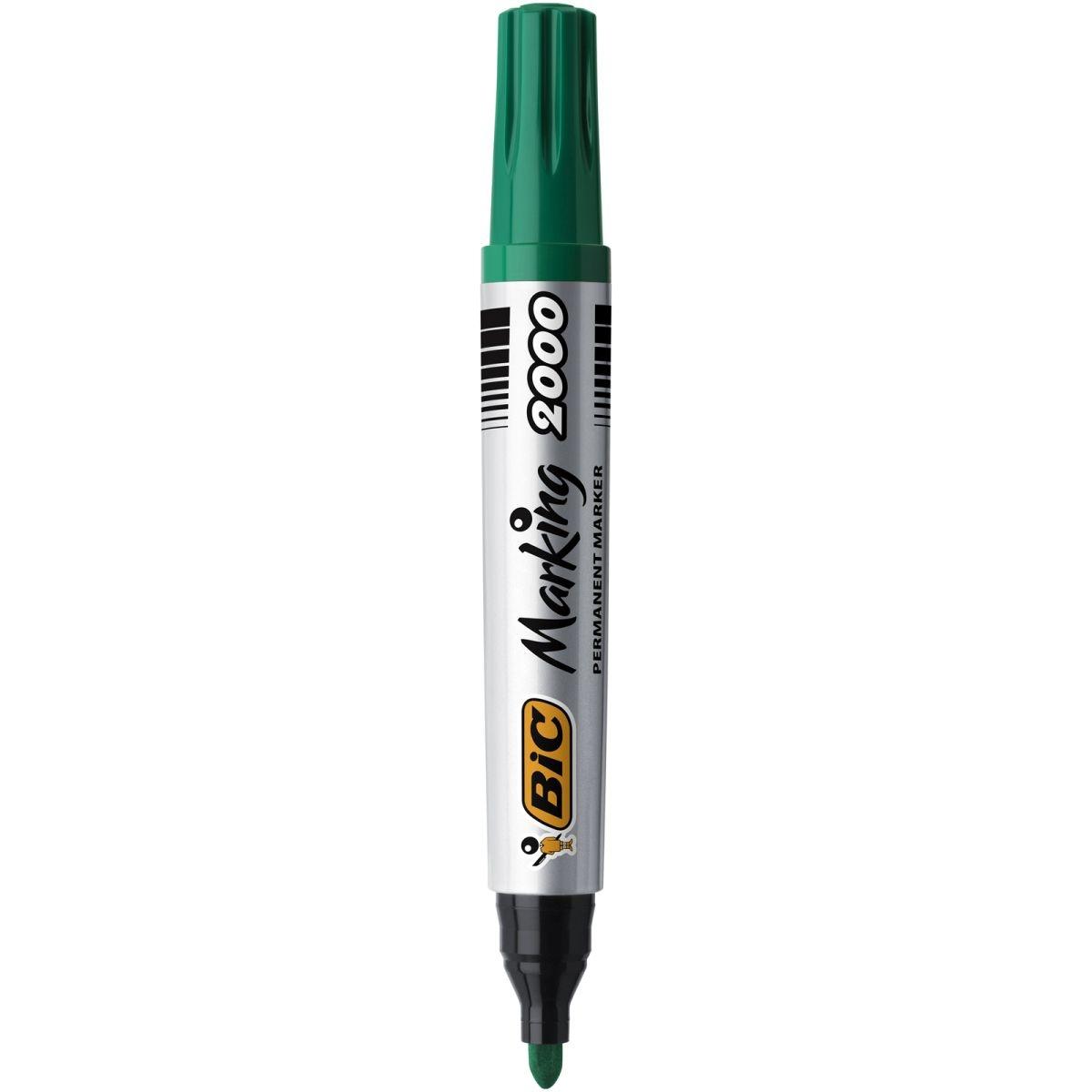 Marker permanentny Bic Marking 2000 - zielony (8209123)