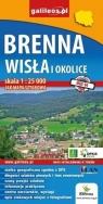 Mapa sztabowa - Brenna, Wisła i okolice 1:25 000