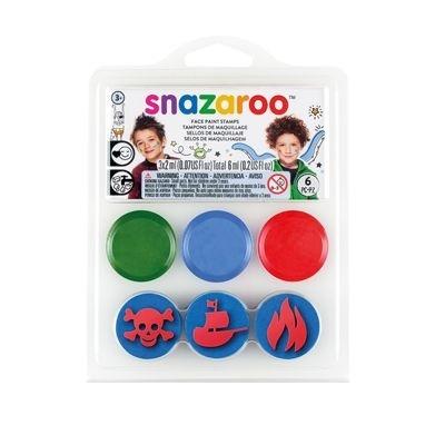 Farby do twarzy ze stempelkami Snazaroo - Piraci (1185050)