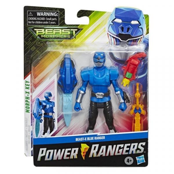 Figurka Power Rangers 15 cm, Blue (E5915/E7828)