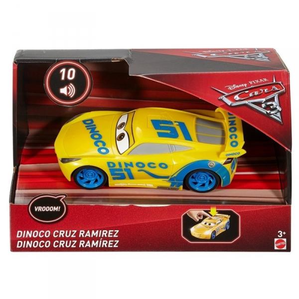 CARS 3 Cruz Ramirez Światła i Dźwięk (FDD54/FDD59)