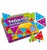 Trójkąty Matematyczne: dodawanie i odejmowanie do 100 (30073) Wiek: 7+