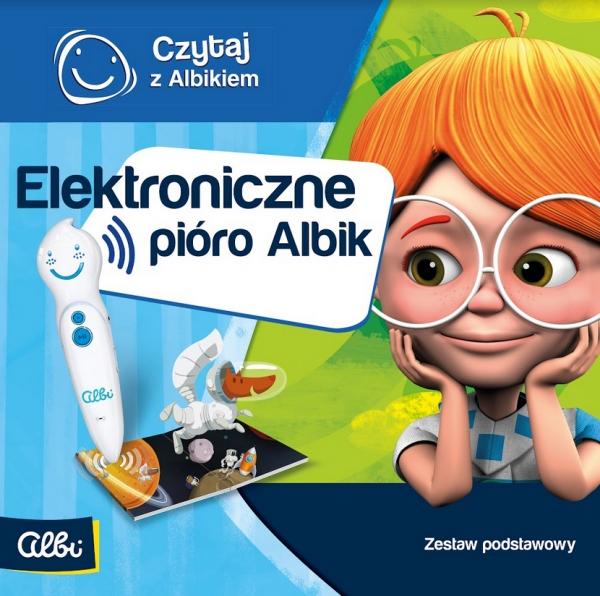 Czytaj z Albikiem. Mówiące pióro Albik (72303)