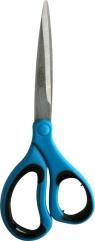Nożyczki soft niebieskie 21 cm