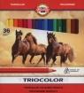 Kredki Triocolor 9mm 36 kolorów