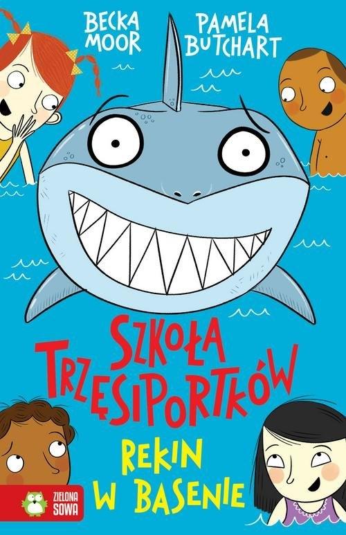 Szkoła trzęsiportków. Rekin w basenie Butchart Pamela