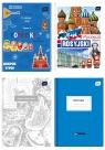 Brulion tematyczny Interdruk A5, linia, 80 kartek j.rosyjski