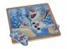 Frozen Puzzle z uchwytami Olaf