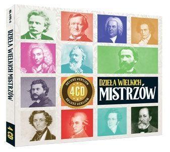 Dzieła wielkich mistrzów 4CD Various Artists