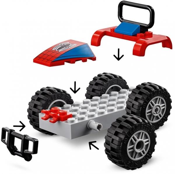 Lego Marvel: Pościg samochodowy Spider-Mana (76133)