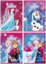 Zeszyt A5 32k kratka laminowany Disney Frozen