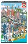 Puzzle 200: Barcelona (18473) Wiek: 6+
