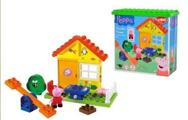 Świnka Peppa Domek letni 19 elementów (800057073)