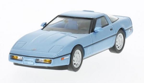 Chevrolet Corvette (C4) 1984 (metallic light blue) (PRD591)