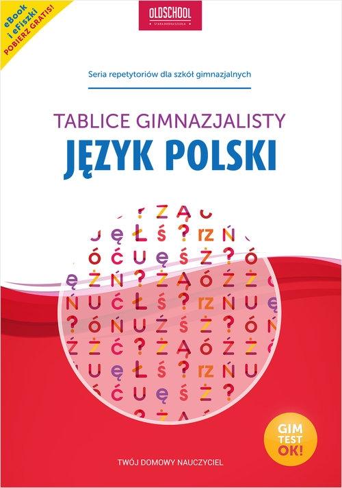Język polski Tablice gimnazjalisty