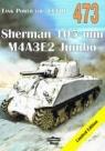Tank Power vol. CCVIII 473 Sherman 105 mm M4A3E2 Jumbo Ledwoch Janusz