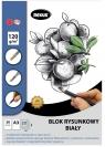 Blok rysunkowy A3/20K biały Premium