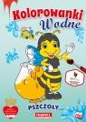 Kolorowanka wodna. Pszczoły