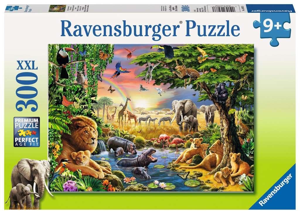 Puzzle XXL 300: Wodopój wieczorową porą (13073)