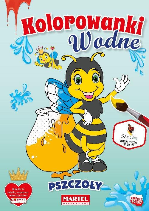 Kolorowanka wodna. Pszczoły Włodarczyk Hubert