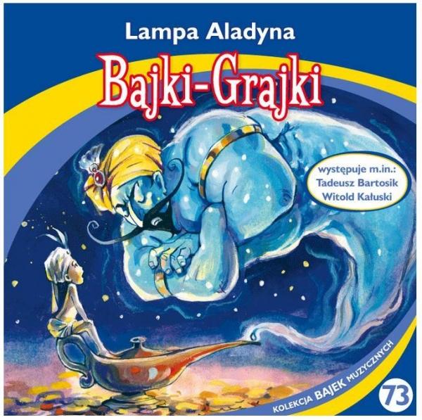 Bajki - Grajki. Lampa Aladyna CD praca zbiorowa