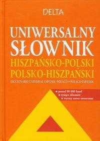 Uniwersalny słownik hiszpańsko polski polsko hiszpański Perlin Janina