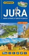 Jura mapa atrakcji turystycznych 1:100 000