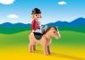 Jeździec z koniem (6973)