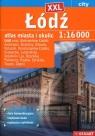 Łódź XXL atlas miasta i okolic 1:16 000