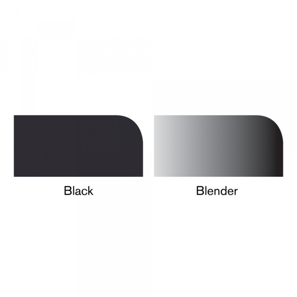 Promarkery - Czarny + Blender