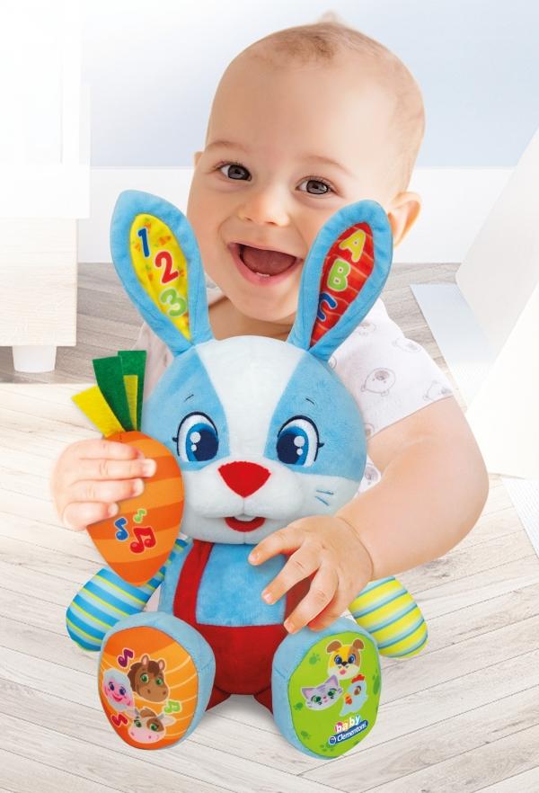Baby Clementoni: Wesoły króliczek Lillo (50073)