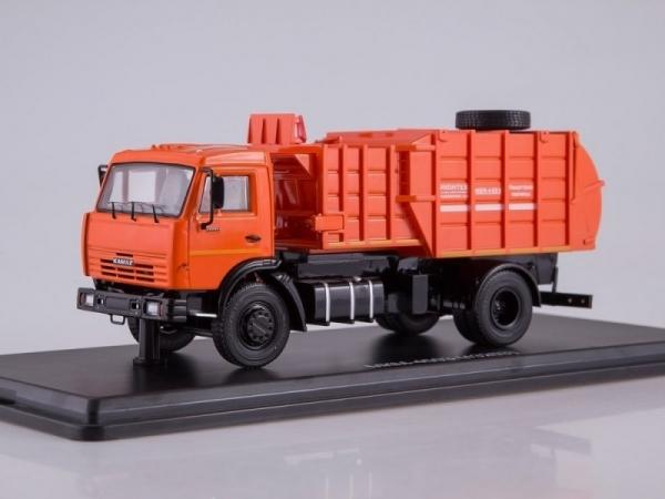 Garbage truck MKM-45 03 (KAMAZ-43253) (SSM1273)