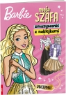 Barbie Moja szafa. Zmazywanki z naklejkami