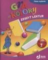 Gra w kolory 1 Zeszyt lektur  Mazur Barbara, Zagórska Katarzyna