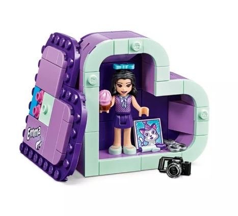 Lego Friends: Pudełko w kształcie serca Emmy (41355)