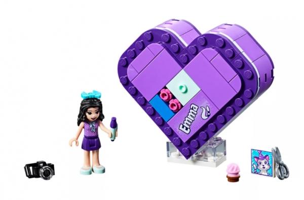 LEGO Klocki Friends: Pudełko w kształcie serca Emmy (41355)