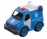 Samochód Policja do skręcania RC (02700)