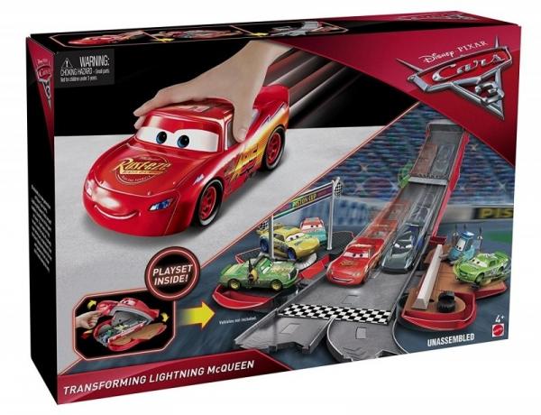 CARS 3 Rozkładane Auta Zygzak McQueen (FCW03/FCW04)